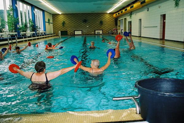 Wassergymnastik beim SC Schoningen 04